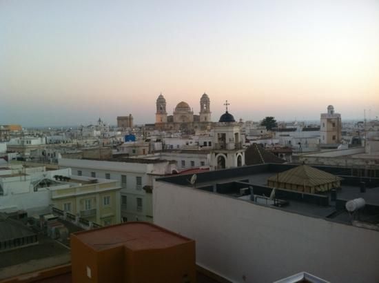 Senator Cadiz Spa Hotel: vistas desde la azotea de la piscina