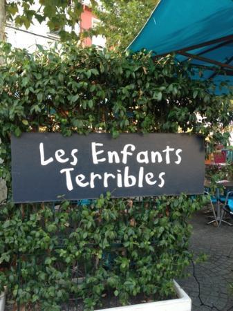 Les Enfants Terribles : Nice place to eat.