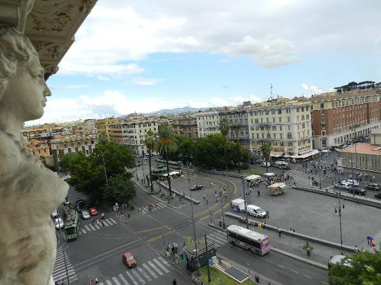 A View of Rome: Vista do quarto!