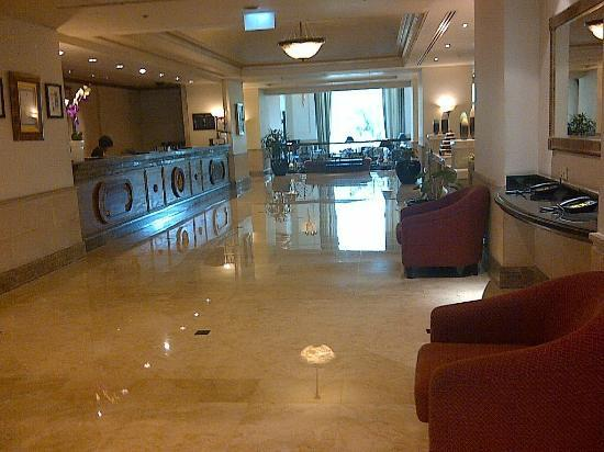 Hotel Borobudur Jakarta: lobby