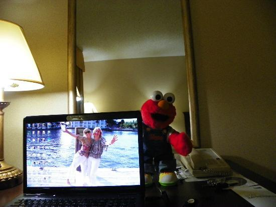Holiday Inn Express & Suites Bradenton West: ELMO HELPING OUT