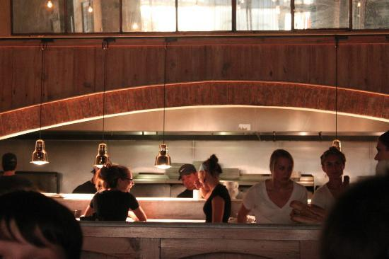 Osteria Cicchetti: Open Kitchen