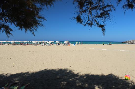 smartline Village Resort & Waterpark: One of Malia's beaches