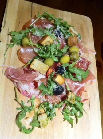 The Falcon At Hatton - Restaurant: Meaty Charcuterie Platter