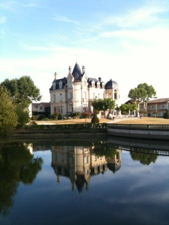 Chateau Grand Barrail: fairy tale chateau