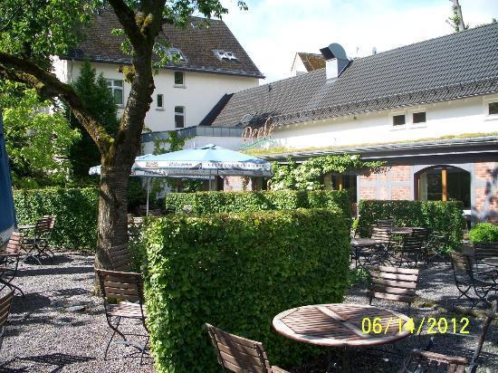 Hotel am Wallgraben: beergarden