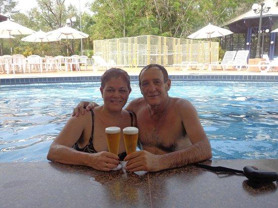 Hotel Termas De Jurema: en el bar mojado
