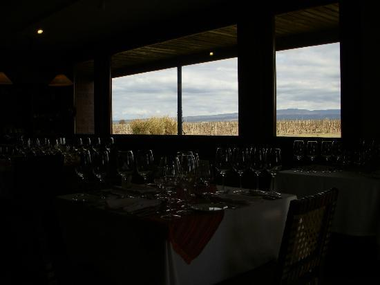 Bodega Ruca Malen: Atmosphere of the restaurant.