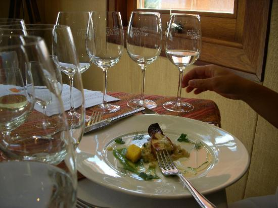 Bodega Ruca Malen: One of the five course lunch.