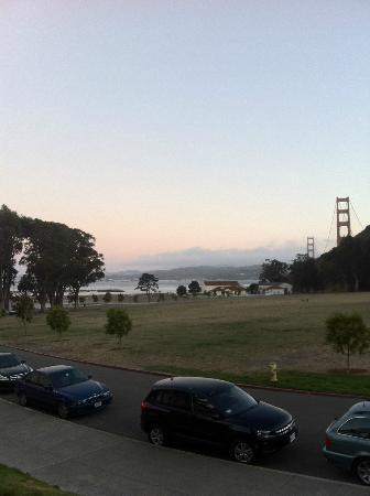 Cavallo Point: View from dinner