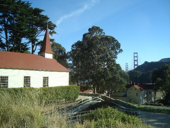 Cavallo Point : View from our room