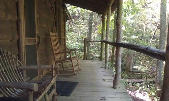 Cabin Fever: porch