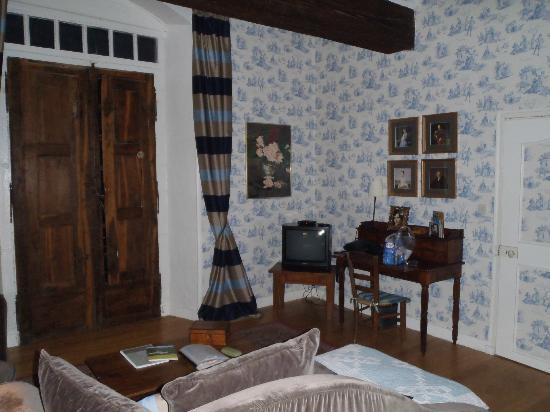 Logis Saint Mexme: Loungeroom