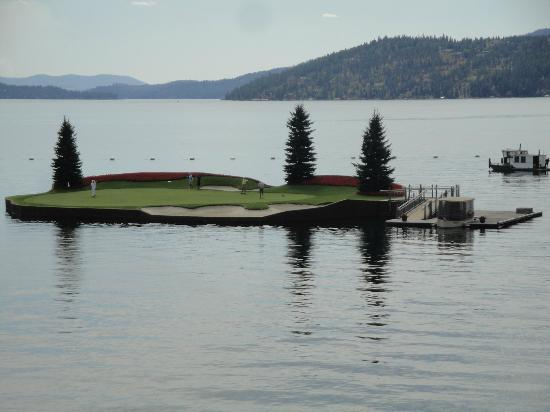 The Coeur d'Alene Resort: The Floating Green