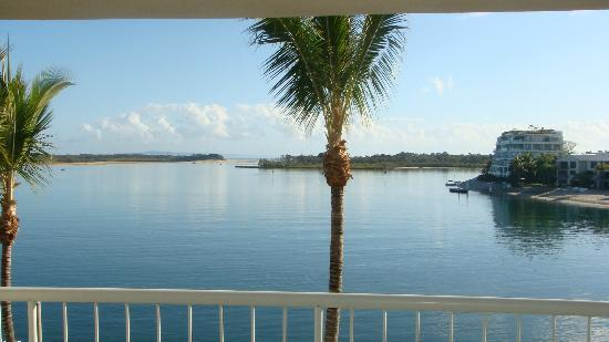 Noosa Pacific Riverfront Resort : View from room 27