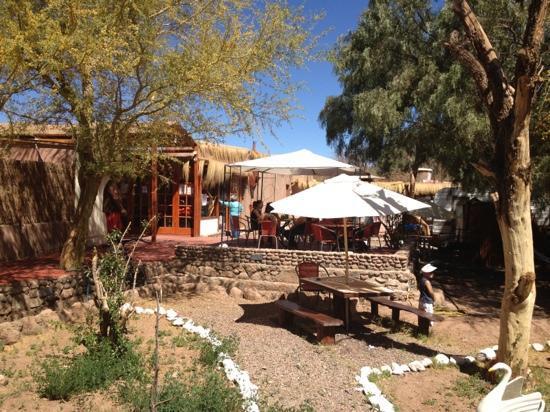 Portal Andino Lodge: common area
