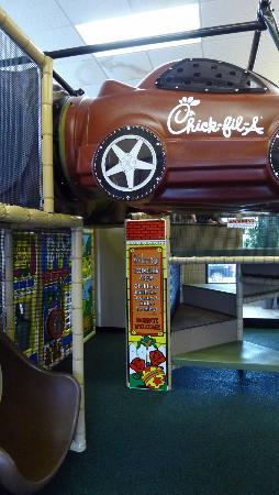 Chick-fil-A - Children's indoor play area