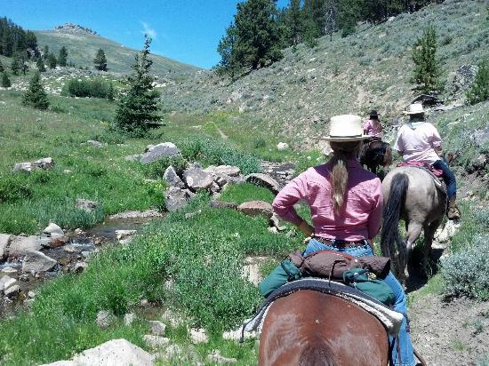 The Hideout Lodge & Guest Ranch: One of Many Beautiful Trails to Ride