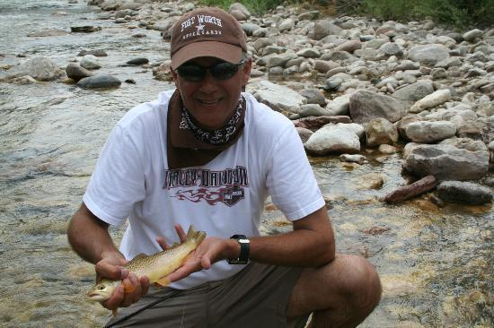 The Hideout Lodge & Guest Ranch: My Husband Fly Fishing