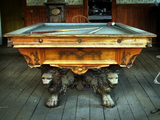 Pool Table In Bodie Hotel (Bodie, CA)