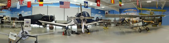 Fargo Air Museum with Super Corsair Race #74, Corsair, TBM Avenger, P 51 Mustangs & L 39 Jet