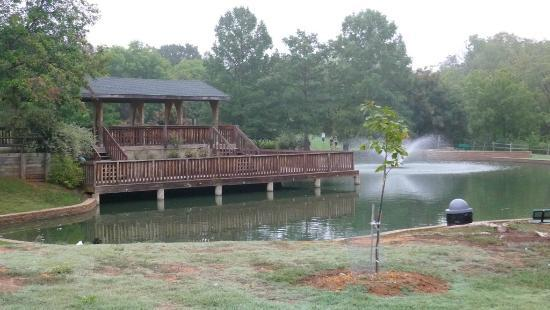 EC Hafer Park Small Fishing Pond At