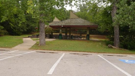 E.C. Hafer Park: Party and BBQ area at Hafer Park