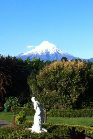 Villa Heights Bed and Breakfast : mount taranaki