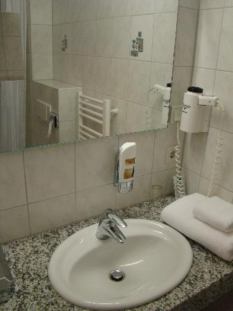 Hotel Domstern: Bathroom - hair dryer