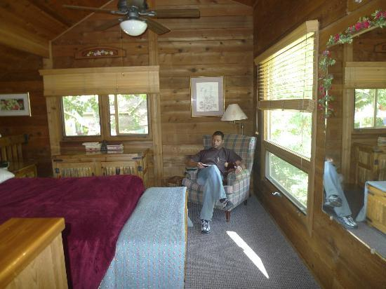 The Canyon Wren - Cabins for Two: Loft Area in Wild Rose