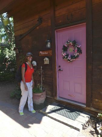 "The Canyon Wren - Cabins for Two: Our Cabin ""Wild Rose"""