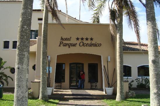 Hotel Parque Oceanico: Vista entrada