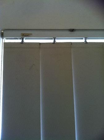 Bay Lodge Apartments: curtains