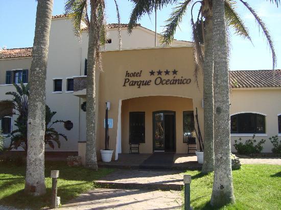 Hotel Parque Oceanico: Entrada