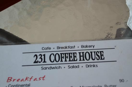 231 coffee house