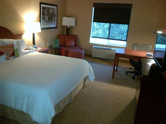 Hilton Garden Inn Portland Beaverton: When you first walk in.