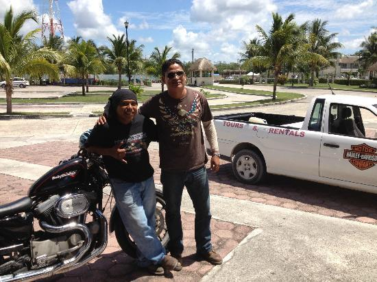Sand Dollar Sports Harley Davidson Tour: Carlos and Sergio- Tour Guides