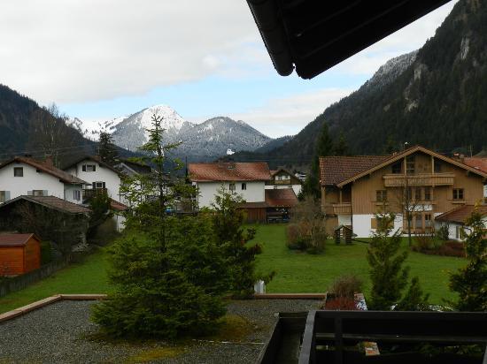Hotel Bergidyll: Vista da varanda do quarto