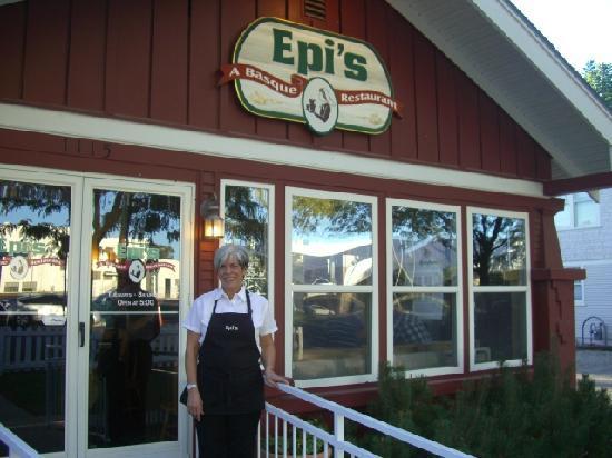 Epi's A Basque Restaurant: The proud owner