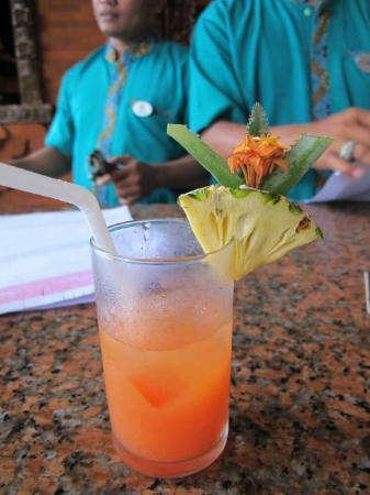 Melasti Legian Beach Resort & Spa: Welcome Drink