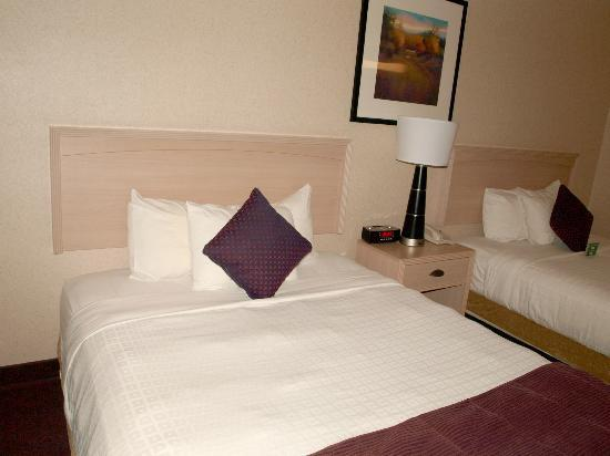 Crystal Inn Hotel & Suites Brigham City: Plenty of pillows