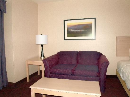 Crystal Inn Hotel & Suites Brigham City: Nice sitting area in the room