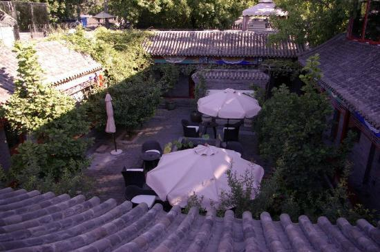 Hotel Cote Cour Beijing: Roof top view