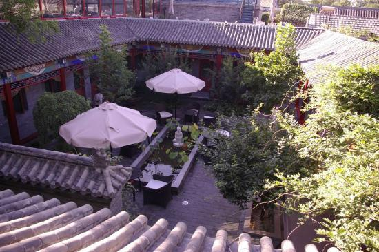 Hotel Cote Cour Beijing: Courtyard view