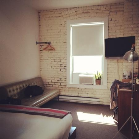 Ace Hotel: our Deluxe room