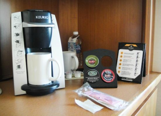 Seaport Hotel: Keurig in the room