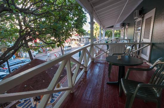 Best Western Pioneer Inn: Balcony