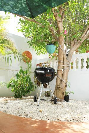My Aruban Home: Grills are available fore those who like to BBQ