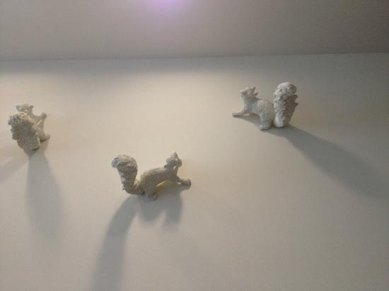 Hotel Paradox, Autograph Collection: little friends artfully placed around property...