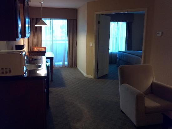 HYATT house Cypress/Anaheim: Photo from the living area